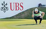 Nathan Kimsey of England putts on the green during the 58th UBS Hong Kong Golf Open as part of the European Tour on 10 December 2016, at the Hong Kong Golf Club, Fanling, Hong Kong, China. Photo by Marcio Rodrigo Machado / Power Sport Images