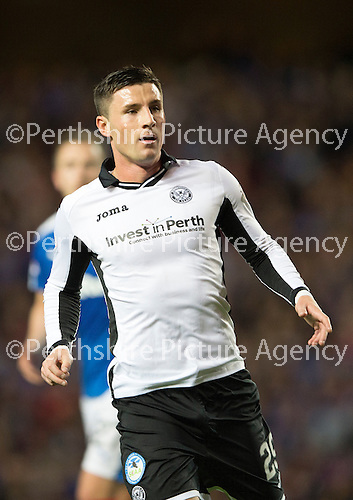 Rangers v St Johnstone...22.09.15  Scottish League Cup Round 3, Ibrox Stadium<br /> Michael O'Halloran<br /> Picture by Graeme Hart.<br /> Copyright Perthshire Picture Agency<br /> Tel: 01738 623350  Mobile: 07990 594431