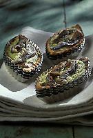 Gastronomie générale: Tartelettes aux anchois et courgettes