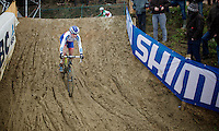 Katerina Nash (CZE/Luna)<br /> <br /> Zolder CX UCI World Cup 2014