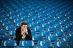 © Joel Goodman - 07973 332324 . 19/09/2015 . Manchester , UK . Fans at the Etihad Stadium after watching Manchester City vs West Ham in the Premiere League . Photo credit : Joel Goodman