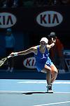 Svetlana KUZNETSOVA (RUS) loses at Australian Open in Melbourne Australia on 21st January 2013