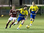 Kelty Hearts v St Johnstone…07.10.20   New Central Park  Betfred Cup<br />Craig Conway and Ross Philp<br />Picture by Graeme Hart.<br />Copyright Perthshire Picture Agency<br />Tel: 01738 623350  Mobile: 07990 594431