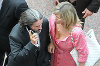 7/9/2010. Convention Centre opens. Johnny Ronan is pictured arriving at the official opening of the Dublin Convention Centre. Picture James Horan/Collins