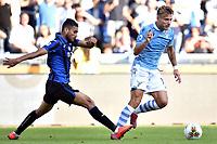Jose Luis Palomino of Atalanta BC makes a penalty foul on Ciro Immobile of SS Lazio <br /> Roma 19-10-2019 Stadio Olimpico <br /> Football Serie A 2019/2020 <br /> SS Lazio - Atalanta<br /> Foto Andrea Staccioli / Insidefoto
