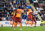 St Johnstone v Galatasaray…12.08.21  McDiarmid Park Europa League Qualifier<br />Liam Gordon's header goes over<br />Picture by Graeme Hart.<br />Copyright Perthshire Picture Agency<br />Tel: 01738 623350  Mobile: 07990 594431