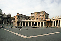 Italy: Rome--Piazza S. Pietro, by G. L. Bernini.  234 Columns, 88 pilasters, 140 statues. Photo '82.