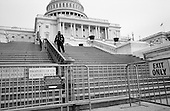 Washington D<br /> District of Columbia<br /> USA<br /> February 6, 2007<br /> <br /> Security outside the Capital building.