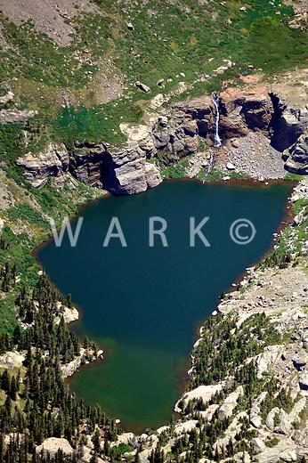 Willow Lake near Mt. Kit Carson, Colorado