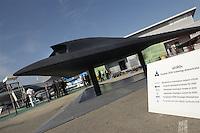 """- model of Unmanned Aerial Vehicle (UAV) stealth Dassault Neuron ....- modello di velivolo senza pilota (UAV) """"stealth"""" Dassault Neuron"""
