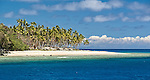 Another perfect beach on Waya Island in the Yasawa's, Fiji Islands