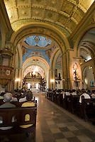 Cuba, in der Kathedrale von Santiago de Cuba