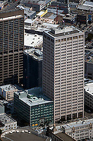 aerial photograph California Automobile Association building 100 Van Ness Avenue San Francisco