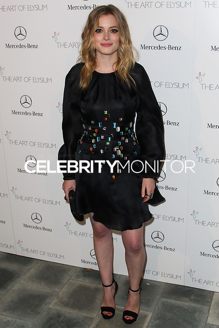 LOS ANGELES, CA - JANUARY 11: Gillian Jacobs at The Art of Elysium's 7th Annual Heaven Gala held at Skirball Cultural Center on January 11, 2014 in Los Angeles, California. (Photo by Xavier Collin/Celebrity Monitor)