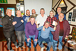 Enjoying the Cheltenham Gold Cup day in the Sliabh Mish on Friday. <br /> L to r: Billy Hennessy, Chucky Connell, Adam O'Mahoney, Ger O'Connell, Paul O'Mahoney, Willie Dennehy, John O'Reidy, Martin Keane, Sean Commerford and Brendan Brosnan.