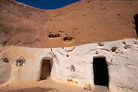 Wohnhöhle, Tijma  bei Matmata, Tunesien