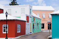 Quaint streets of St George Parish, Bermuda