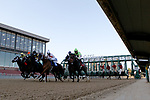 January 22, 2021: The start of the Smarty Jones Stakes at Oaklawn Racing Casino Resort in Hot Springs, Arkansas on January 22, 2021. Justin Manning/Eclipse Sportswire/CSM