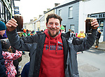 Keeping the whistle wet at the St Patrick's Day parade in Killaloe. Photograph by John Kelly.