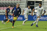 FORT LAUDERDALE, FL - DECEMBER 09: Djordje Mihailovic #14 of the United States moves with the ball during a game between El Salvador and USMNT at Inter Miami CF Stadium on December 09, 2020 in Fort Lauderdale, Florida.