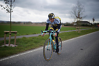 Sep Vanmarcke (BEL/LottoNL-Jumbo) at the Ronde van Vlaanderen 2016 recon