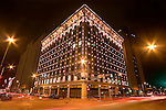 PG & E Building in downtown Denver, Colorado, USA John offers private photo tours of Denver, Boulder and Rocky Mountain National Park.