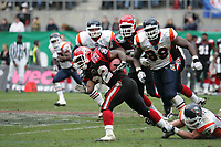 Fred Russell (Runningback Cologne CEnturions) setzt sich durch