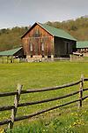 John Knox Farm and barn.