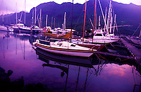Nawiliwili small boat harbor, Kauai