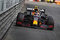 23rd May 2021; Principality of Monaco; F1 Grand Prix of Monaco,   Race Day;  11 PEREZ Sergio mex, Red Bull Racing Honda RB16B