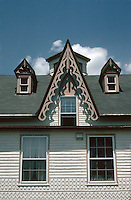New Bedford:  Victorian Gothic--detail. 1174 Pleasant St.  Photo '91.