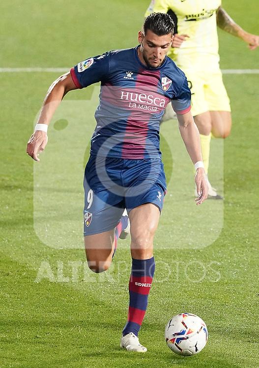 SD Huesca's Rafa Mir during La Liga match. September 30,2020. (ALTERPHOTOS/Acero)