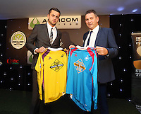 Pictured: Lukasz Fabianski with sponsor Wednesday 20 May 2015<br />