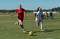 Lakewood Ranch, FL - Sunday Dec. 10, 2017: Alexa Spaanstra (7) during the 2017 Development Academy Winter Showcase & Nike International Friendlies at Premier Sports Campus at Lakewood Ranch, FL.