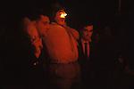 Burning the Bartle West Witton, Wensleydale,  Yorkshire England. 1970s.   1972