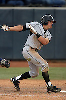 February 21 2010: T.J. Mittelstaedt of Cal. St. Long Beach during game against Cal. St. Fullerton at Goodwin Field in Fullerton,CA.  Photo by Larry Goren/Four Seam Images