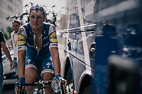 Matteo Trentin (ITA/Quick-Step Floors) warming down post-race<br /> <br /> 104th Tour de France 2017<br /> Stage 6 - Vesoul › Troyes (216km)