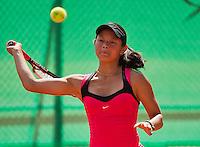 August 9, 2014, Netherlands, Rotterdam, TV Victoria, Tennis, National Junior Championships, NJK, Arianne Hartono (NED)<br /> Photo: Tennisimages/Henk Koster