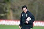 040213 Wales v Austria football training
