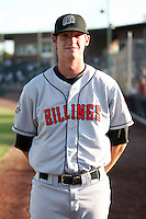 August 11, 2009: Brian Pearl of the Billings Mustangs.The Mustangs are the Pioneer League affiliate for the Cincinnati Reds. Photo by: Chris Proctor/Four Seam Images