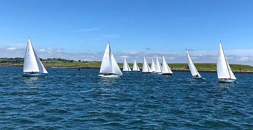 Rivers  racing at their Centenary event on Strangford Lough Photo: Elaine Hicks