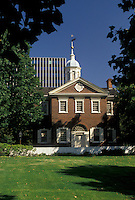 AJ3055, Philadelphia, Pennsylvania, Carpenter's Hall at Independence National Historical Park in Philadelphia in the state of Pennsylvania.