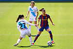 Liga IBERDROLA. Game 26.<br /> FC Barcelona vs RC Deportivo: 9-0.<br /> Eva Dios vs Graham Hansen.