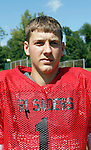 Waterbury, CT-28 August 2012-082812CM10-    Holy Cross football quarterback Kristian Harmeling, Tuesday afternoon at practice in Waterbury.   Christopher Massa Republican-American