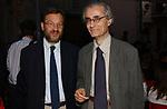 SERGIO VALZANIA CON LUCIANO CANFORA<br /> PREMIO LETTERARIO CAPALBIO 2003