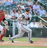 Doug Clark of the Richmond Braves vs. the Rochester Red Wingss:  May 31st, 2007 at Frontier Field in Rochester, NY. Photo By Mike Janes/Four Seam Images