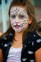 Face Painting Arts Alive Festival Langley City