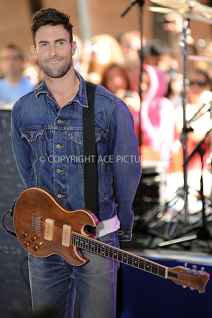 WWW.ACEPIXS.COM . . . . . ....July 2 2010, New York City....Maroon 5 performing on NBC's Today show at the Rockerfeller Plaza on July 2 2010 in New York City....Please byline: KRISTIN CALLAHAN - ACEPIXS.COM.. . . . . . ..Ace Pictures, Inc:  ..(212) 243-8787 or (646) 679 0430..e-mail: picturedesk@acepixs.com..web: http://www.acepixs.com
