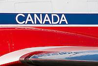 Canadair CT-114 Tutor Snowbird No. 8 Canadian Museum of Flight Langley Regional Airport CYNJ