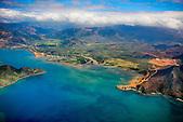 Cap Bégat (Mè Néjumö), pic Mara et la baie de Kouaoua (Kwawa), Nouvelle-Calédonie